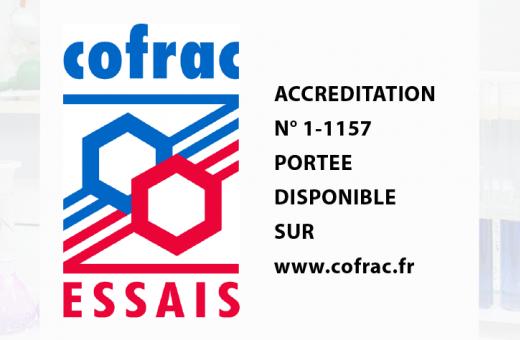 Logo accréditation Cofrac